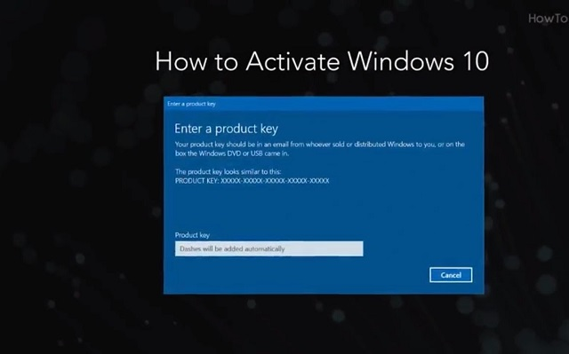 Cách sửa lỗi you need to activate windows before you can personalize your PC